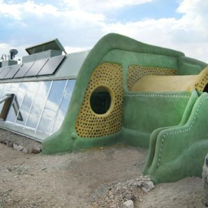 Earthship in Taos New Mexico